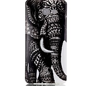 Elephant Pattern TPU Back Case for Galaxy A5(2016)/Galaxy A5(2016)