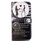 Для Кошелек Бумажник для карт со стендом Флип С узором Кейс для Чехол Кейс для Мультяшная тематика Твердый Искусственная кожа для Apple