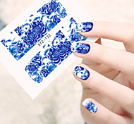 1 sheet Water Transfer Stickers Nail Art