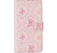 Pink Bear About Open Holster for LG Leon H340N/LG manga H502/LG spirit H 422
