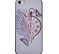 Pocket Watch Pattern TPU Material Phone Case for iPhone SE/iPhone 5/5S