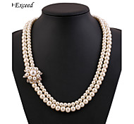 D Exceed Woman's  Pearl Necklace
