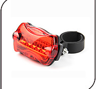 Rear Bike Light / Safety Lights LED - Cycling Waterproof / Anti Slip AAA 80 Lumens Battery Cycling/Bike-XIE SHENG