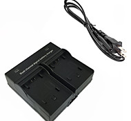 FV100 Digital Camera Battery Dual Charger for Sony FH 50 70 100 FV 50 70 100 120 FP 50 70 90