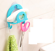 Hooks Toilet / Bathtub / Shower Plastic Multi-function / Travel / Storage