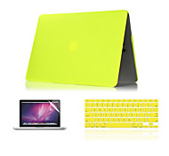 "3 in 1 Matte  Hard Case +Keyboard Cover+ Screen Protector for Macbook Air 11"" Retina 13""/15"""