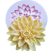 выпечке Mold Цветы Для торта Для Cookie Для Pie силиконовый Экологичность Высокое качество Сделай-сам