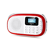 nogo Q15 mini fm radio portatile lettore mp3 digitale con carta di tf piccoli altoparlanti