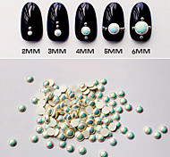 100pcs Nail Art Decorations New Arrive AB Color Nail Supplies Pearls for Nails 3D Nail Art Jewelry
