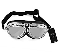 Vintage Style Aviator Motorcycle Bike Goggles Helmet Glasses Protection New
