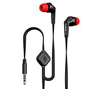 langsdom jd88 drive-by-wire de metal fone de ouvido fones de ouvido com controle de volume do microfone headset de isolamento de ruído