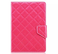 Plaid Pattern 7 Inch Tablet Case Universal Leather Stand Case Cover For 7 Inch Tablet PC Magnetic Flip Cover