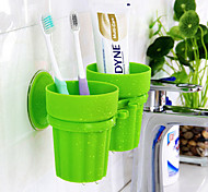 Toothbrush Mug Toilet / Bathtub / Shower Plastic Multi-function / Travel / Storage