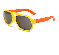 Kids New European Fashion Colorful Retro Sunglasses (Random Color)