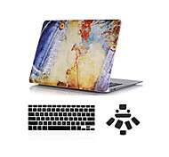 """3 in 1 Stierpuncher Design Ganzkörper-Fall + Tastaturabdeckung + Staubstecker für MacBook Pro 13 """"/ 15"""""""