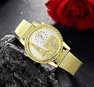 Women's Watch Fashion Diamante Golden Band Cool Watches Unique Watches