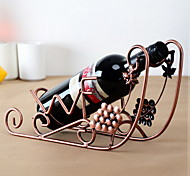 Grape Ship Design Vintage Pure Iron Wine Rack