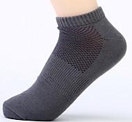 6 paia calze di cotone degli uomini dei calzini casuali di alta qualità per l'esecuzione di / yoga / fitness / calcio / golf