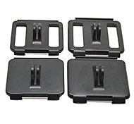 4 in 1 Fixed Mount Back Cover Set 2PCS for Hero3+/3/2/1 2PCS for Hero4