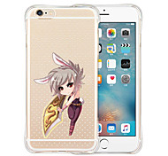 A Sword Mirror Its Owner Soft Transparent Silicone Back Case for iPhone 6/6S (Assorted Colors)