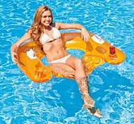 INTEX Sit 'n Float Classic Inflatable Raft Swimming Pool Lounge