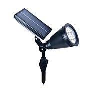 4led abs Outdoor-Solar-Power-Strahler Landschaft Spot-Licht-Flutlichtlampe Garten Rasen