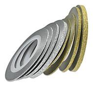 1шт 1мм 20m ногтей золото / серебро блестки полоса ленты украшения искусства ногтя инструменты nc275