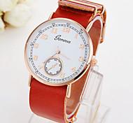 Men's Watch Quartz Fashion Watch Leather Band Wrist watch Cool Watch Unique Watch