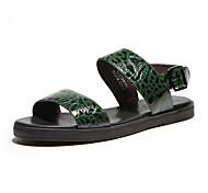 Aokang® Men's Comfy Flat Heel Sandals(green)