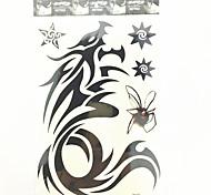 PC 1 Drogon tatuaje temporal a prueba de agua (26.5cm * 19cm)