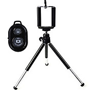 Universal Mini TrIpod Holder with Mobile Phone Holder and Bluetooth Remote Shutter for iPhone