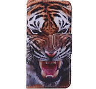 Tiger Painted PU Phone Case for Huawei P9/P9lite