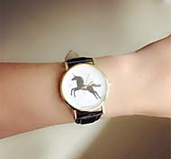 montre-bracelet chaud vente bracelet en cuir cheval antique montre d'affaires Horloges mannen quartz-montre montre glod marque de luxe