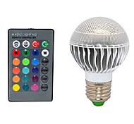 10W E26/E27 LED Kugelbirnen 3 72 lm Ferngesteuert AC 220-240 V 1 Stück