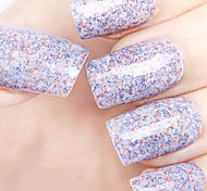 Ekbas Environmentally Safe Sugar Gum Multicolor 16ML Glitters Nail Polish
