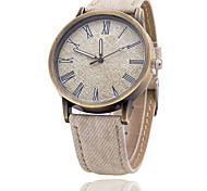 Men's Rome Bronze  Literal Denim Watch Wrist Watch Cool Watch Unique Watch