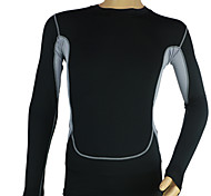 Elastic Compression Wicking Workout Clothes Running Training T-shirt