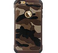 camo fina caso da tampa do iphone de ultra proteção traseira para iPhone 5s se / iphone / iphone 5
