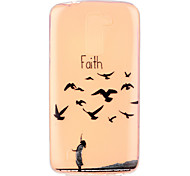 Faith Pattern Embossed TPU Case for LG K7/ K10