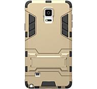 для Samsung Galaxy ударопрочного с подставкой задней стороны обложки случая броня жесткий ПК Samsung Примечание 5 Примечание 4