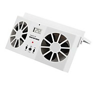 Solar Powered Car front/rear window Air Vent Cool Cooler Fan Summer Gift IE