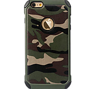 Ultra Thin Camo Color Protective Back Cover iPhone Case for iPhone 6S/iPhone 6