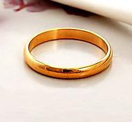 Alliances Mariage Soirée Quotidien Décontracté Sports Bijoux Plaqué or FemmeCouple de Bagues Bagues pour Première Phalange Anneaux Bagues