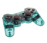 Transparent Wireless Bluetooth DualShock3 Sixaxis Rechargeable Controller Joypad for PS3