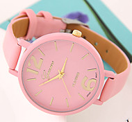 Women's European Style Fashion Wild Candy-colored Casual Wrist Watch