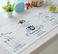 """4pcs Placemats Pack Cotton Fabric Washable Fashion Pattern 27.5"""" by 13"""""""