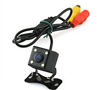 Waterproof 170°4 LED Light Car Rear View Rearview Back Up Color CMOS Camera