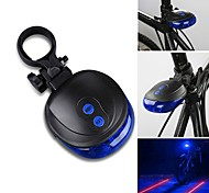 Rear Bike Light LED / Laser - Cycling Waterproof AAA 1000 Lumens Battery Cycling/Bike-Lights