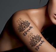 tatuajes temporales del arte de la moda sexy cuerpo resistente al agua tatuaje pegatinas historietas 5pcs