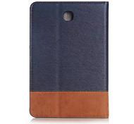 Fall für Samsung 8.0 Lederschutzhülle für Samsung Galaxy Tab 8.0 s2 T710 / t715c mit Kartenslots s2 galaxy tab
